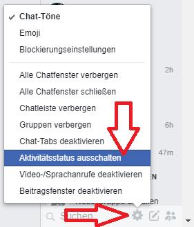 Online Status Verbergen Facebook