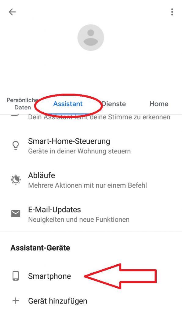Automatische Aktivierung Von Ok Google Deaktivieren Electron